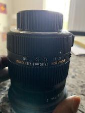 Sigma 17-50mm f/2.8 EX DC OS HSM Zoom Lens (lightly used) - NIKON MOUNT