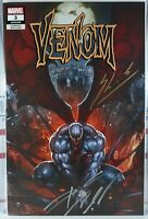 🔥 SIGNED! VENOM #3 SKAN + DONNY CATES 🔑 KNULL NM+ FIRST PRINTING VARIANT 2018