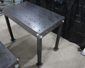 Schweißtisch Lochtisch Bausatz Werkstatt Schweißzubehör 1000x600 mm