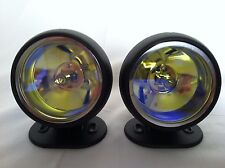 """Universal 3"""" 12V H3 55W Round Fog Lights Driving Lamps  Truck Car SUV Jeep"""