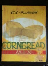 Old-Fashioned Cornbread Mix Art Print by Norman Wyatt Jr.