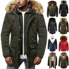 Cappotti e giacche da uomo parke multicolore