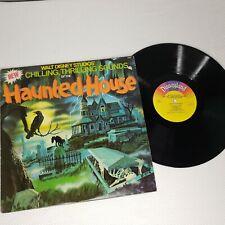 Walt Disney Studios Chilling Thrilling Sounds Haunted House 1979 Record Album