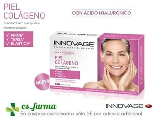 INNOVAGE Peau Collagène 45 Comprimés Acide Hyaluronique Vitamine C