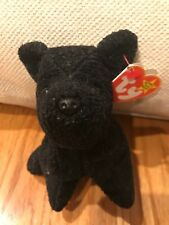 "TY Beanie Baby ""Scottie"" *RARE PVC*Original/Collectible/Retired Multiple ERRORS"