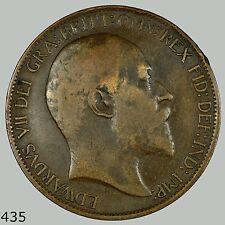 1902 GB, Great Britain 1/2 Penny, Half Penny, Half Cent, UK, English, England