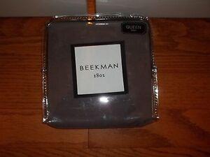 NIP Beekman 1802 Bellvale Dusk Purple Standard Sham