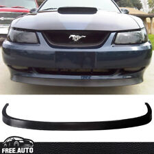 For 99-04 Ford Mustang OE Style Front Bumper Lip 2Dr Spoiler Bodykits Black PU