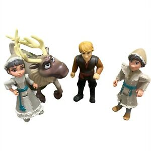 Disney Frozen Sven Kristoff Ryder Honeymaren Figures Toy Lot Hasbro 2018