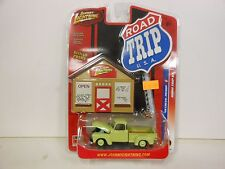 Johnny Lightning Road Trip USA 1950 Chevy Pickup Green (Die-cast-1:64 Scale)