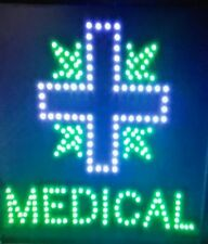 Blue Cross +, Medical neon Led Sign,smoke shop,store,business,windo w sign