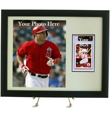 Sports Card Frame for YOUR BGS Graded Card & 8 x 10 Photo Opening for YOUR Photo