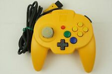 Hori Nintendo 64 Hori Pad Mini Yellow Controller 2 N64 From Japan