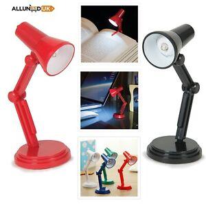Mini LED Book Clip Reading Lamp Flexible  Desk Bed Read Table Study Light Gift