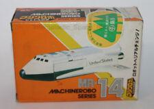 1986 Bandai Machine Robo Japanese Shuttle Robo MR-14 Empty Box