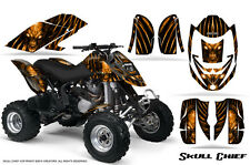 CAN-AM DS650 DS650X CREATORX GRAPHICS KIT DECALS SKULL CHIEF O