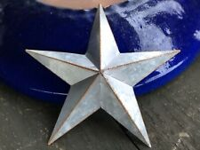 Galvanized Rusty Metal Barn Star 10 inch Country Farmhouse Decor