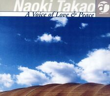 Takao Naoki - Voice of Love & Peace [New CD] Japan - Import