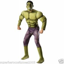 Avengers Age Of Ultron Hulk Muscle Adult Costume Marvel Comics Rubie's 810290