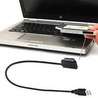 "USB 3.0 To SATA 22 Pin 2.5""Laptop Hard Disk Drive SSD Adapter Cable Converter"