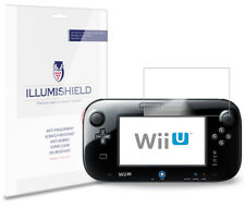 iLLumiShield Screen Protector w Anti-Bubble/Print 3x for Nintendo Wii U GamePad