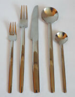 Towle TWS254 5 Piece Place Setting 4 Available MODERN Knife Fork Spoon Flatware