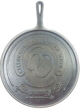 Cast Iron Flat Griddle Shallow Skillet 60 years service remc 1939-1999