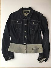 NWT Baby Phat Denim Jacket XL Fitted Button Down Made In USA Retails $92! HOT!