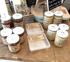 2 x 300g RAW honey: 1 Melaleuca Lanceolata + 1 local flora: Moonah Dunes Honey
