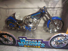 Choppers Jesse James West Coast CFL RIGID Muscle Machines 1:18 Scale  NEW