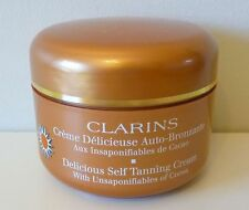 CLARINS Delicious Self Tanning Cream,125ml, Brand New Sealed!!