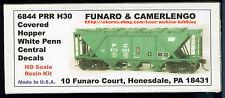 Funaro F&C 6844 PRR H30 Covered Hopper  PENN CENTRAL   PC  Post Pennsylvania