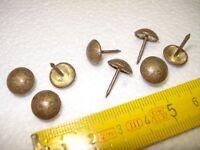 1000 clous de tapissier perle fer 11 mm  bronze doré ,fauteuil, siège