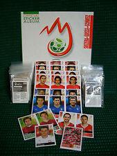 Euro 2008, Set complete + Album + 33 Updates + P1-P20, Schweiz-Ausgabe, rar !!!