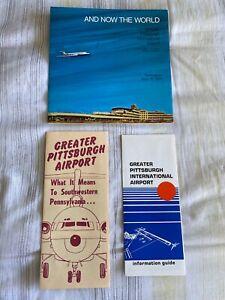 GREATER PITTSBURGH AIRPORT MEMORABILIA