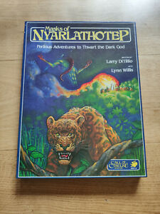 MASKS OF NYARLATHOTEP - Chaosium Inc. c. 1984 - Excellent condition / Near Mint