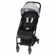Baby Trend Tri Fold Lightweight Compact Mini Stroller with Carry Strap, Pebble