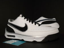 2008 Nike VIS TAKE AWAY LOW TB STEVE NASH WHITE BLACK SILVER GREY 324827-101 11