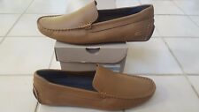 Lacoste Piloter 117 1 Men's Casual Leather Loafer Shoes US9/UK8/EUR42 TAN
