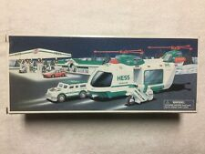 HESS 2001 Helicopter with Motorcycle and Cruiser Poster 18/' by 14.5/""