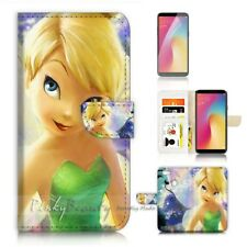 ( For Oppo A73 ) Flip Wallet Case Cover P21064 TinkerBell