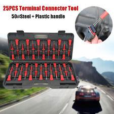 25PCS Universal Car Terminal Release Tool Set Automotive Wiring Connector Case
