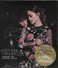 Joey Yung x Hacken Lee Concert 2015 Live 3 DVD & 3 CD 容祖兒 x 李克勤演唱會 Boxset 6-Disc