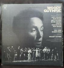 Woodie Guthrie A Tribute Album Part 1 Folk Music Vinyl LP EX