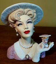 Cameo Girls Head Vase Abigail 1953
