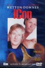 WETTON/DOWNES-Icon-Acoustic TV Broadcast                           PAL DVD