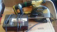 "Panasonic 15.6V 5-3/8"" Cordless Metal Saw Kit EY3530"