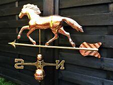 Large Horse Polished Copper Weathervane - EX Display