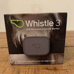 Whistle 3 GPS Tracker and Activity Monitor.