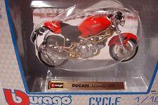 Ducati Monster 900 rot --  1:18 Burago